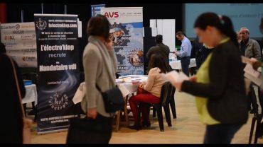 Salon de l'emploi à Saint-Loubès