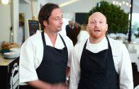 Arno Busquet et David Personnaz du Restaurant Le M