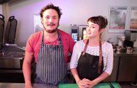 Teo Barazer et Marion Méténier du Restaurant La fleur au fusil